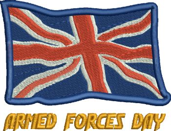 Armed Forces Day Embroidered polo shirt